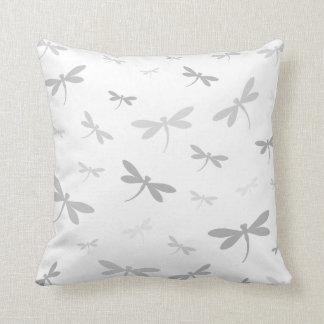 Custom Color Dragonflies - Various Shades Throw Cushions