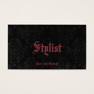 Custom Color French Gothic Damask Stylist Template
