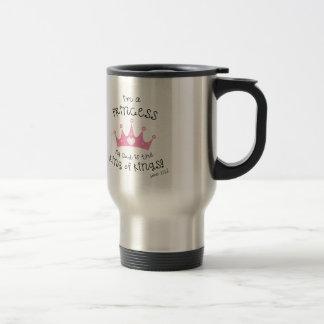 Custom Color I m a Princess Crown Design Coffee Mug