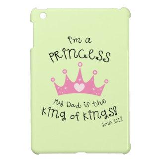 Custom Color I'm a Princess Crown Design iPad Mini Cases
