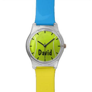 Custom Color Kids Tennis Ball Watch