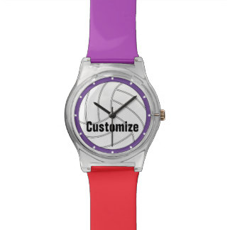 Custom Color Kids Volleyball Watch