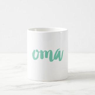 Custom Color Oma Grandma Mug | Grandparents