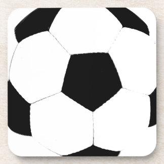 Custom Color Soccer Ball Drink Coasters