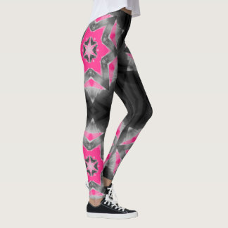 Custom-Color SUPERSTAR  Leggings (Shown in PINK)