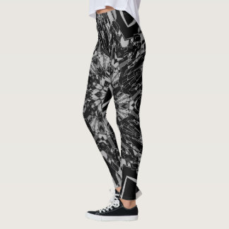 Custom-Color TECHNO SNOWFLAKE Leggings