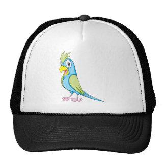 Custom Colorful Parrot Mesh Hats
