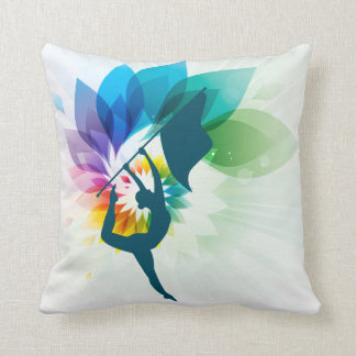 Custom Colour Guard Pillow