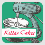 Custom colour retro stand mixer baking bakery