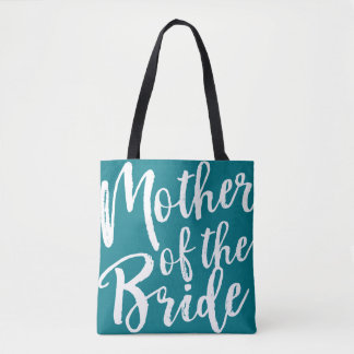 Custom Colour Wedding Party Mother of the Bride Tote Bag