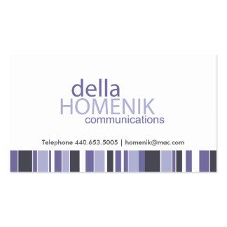 Custom Communications Business Card