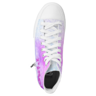 Custom - Contemporary Zipz High Top Shoes Printed Shoes