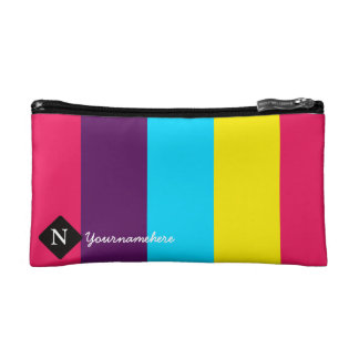Custom Cosmetic Bag With 4 Combining Color