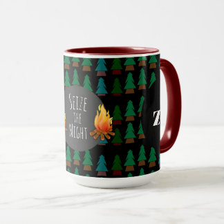 Custom Cosy Fun Overnight Camp Coffee or Tea Mug