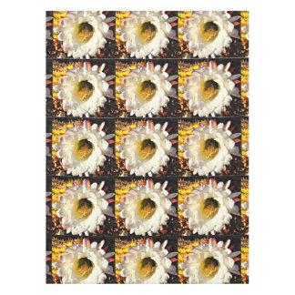 Custom Cotton Table Cloth - Cactus Flower