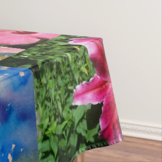 Custom cotton tablecloth 52x70 with art