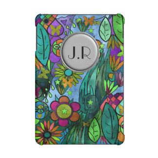 custom cover botanical garden scene monogram 2016