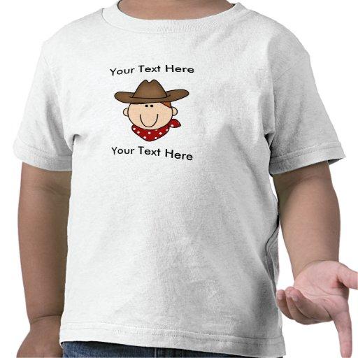 Custom Cowboy Red T-Shirt