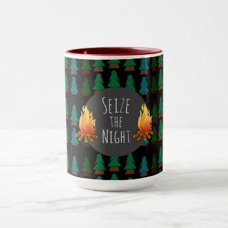 Custom Cozy Fun Overnight Camp Coffee or Tea Mug