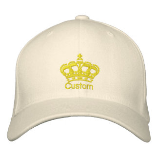 Custom Crown Hat - Customizable Cap Embroidered Hats