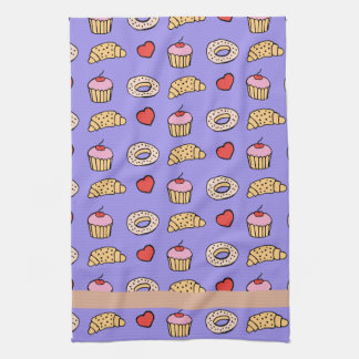 Custom Cupcake Pattern Towels