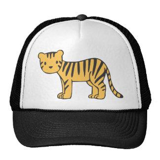 Custom Cute Baby Tiger Standing Hats