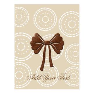Custom Cute Bow Card