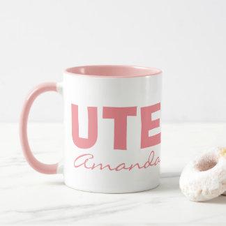 Custom cute girl mug