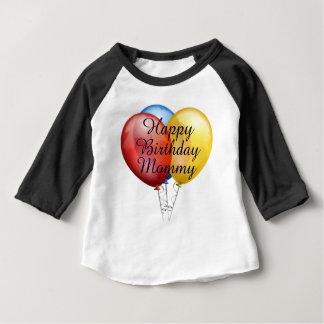 Custom cute Happy Birthday Mommy baby Shirt