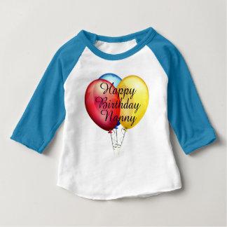 Custom cute Happy Birthday Nanny baby Shirt