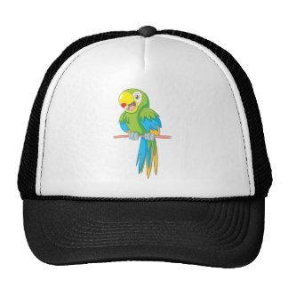 Custom Cute Parrot Cartoon Hat