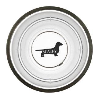 Custom Dachshund Breed Dog Bowl