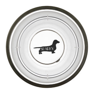 Personalised dog bowls from Zazzle