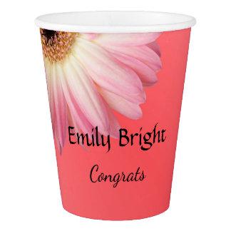 Custom Daisy Paper Cup