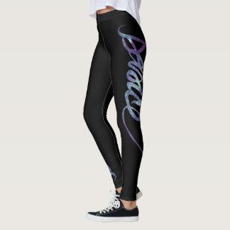 Custom Dance Script - Galaxy 3 Leggings