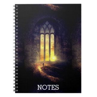 Custom Dark Gateway World Adventure/Magic Notebook