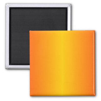 Custom Dark Orange Yellow Magnet
