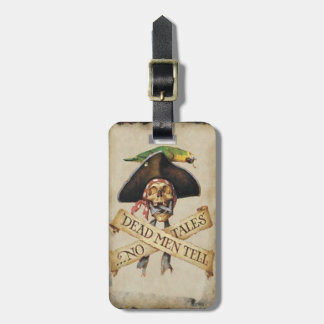 Custom Dead Pirate Luggage Tag