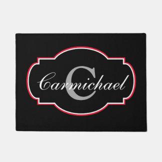 Custom Decorative Monogram Doormat