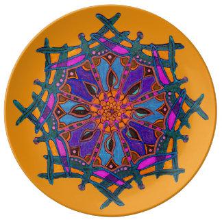 Custom Decorative Porcelain Plate