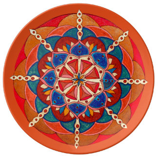 Custom Decorative Porcelain Plate