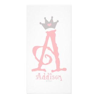 Custom Design - Addison Personalised Photo Card