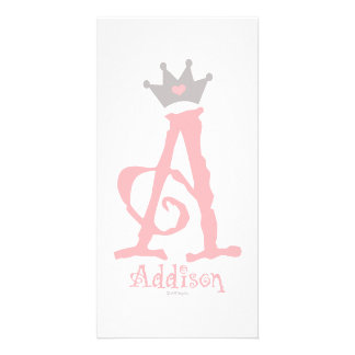 Custom Design - Addison Photo Greeting Card