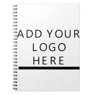 Custom Design Logo Spiral Notebook