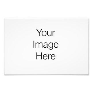 Custom design photo print