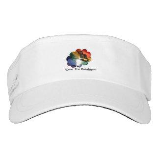 Custom designed woven visor
