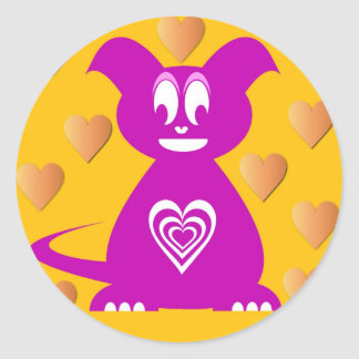 Custom designer sticker