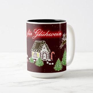 Custom desinged mug for mulled wine / glühwein