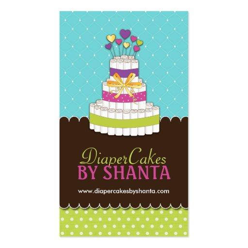 Custom - Diaper Cakes Business Cards