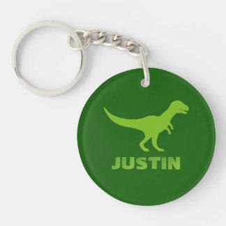 Custom dinosaur acrylic keychain for children